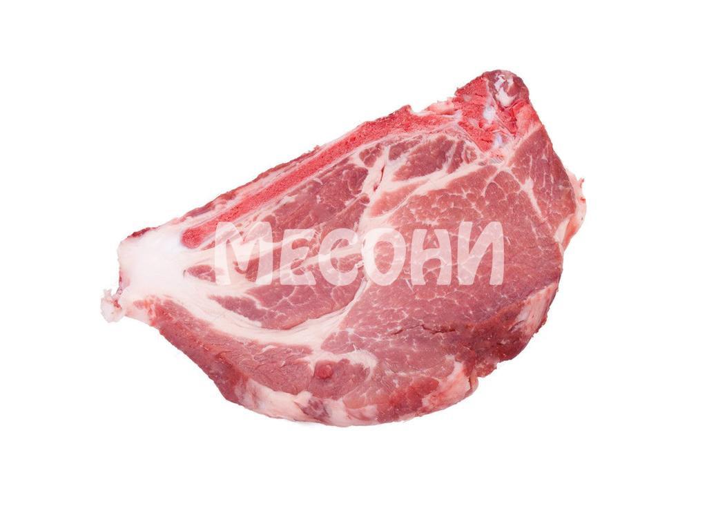 Свински врат с кост